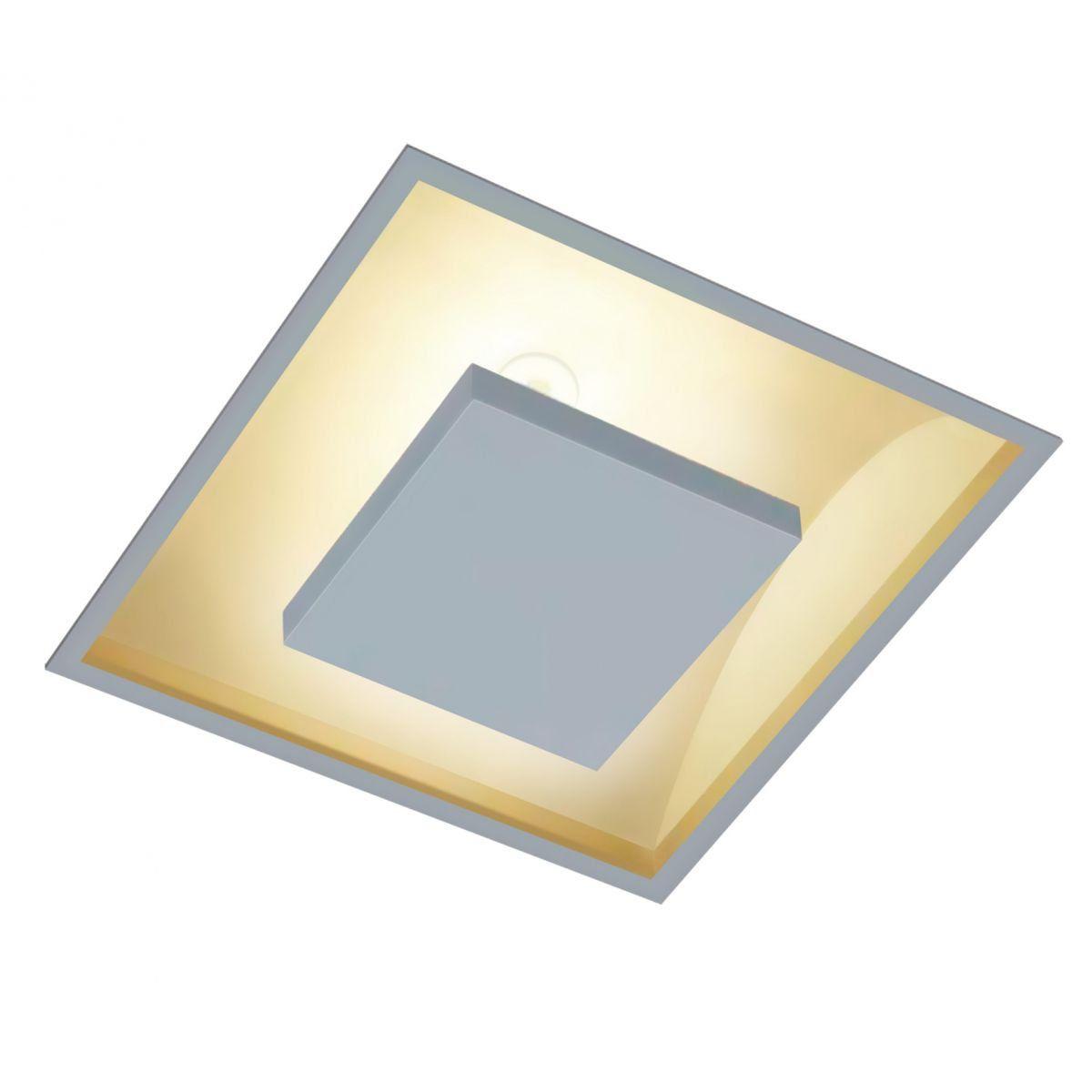 Embutido Quadrado Luz Indireta 35x35 4xG9 Branco