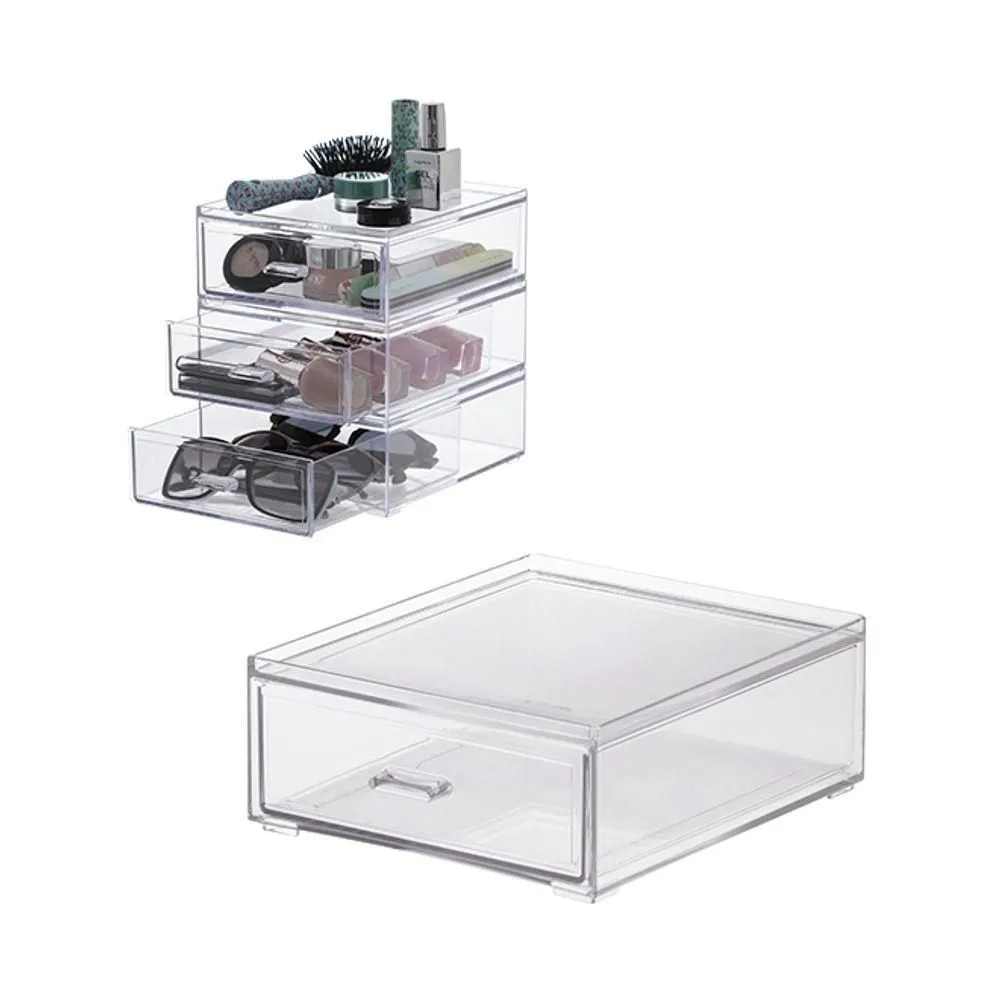 Mini gaveteiro Gaveta Organizadora Elegance 18,5x16x7