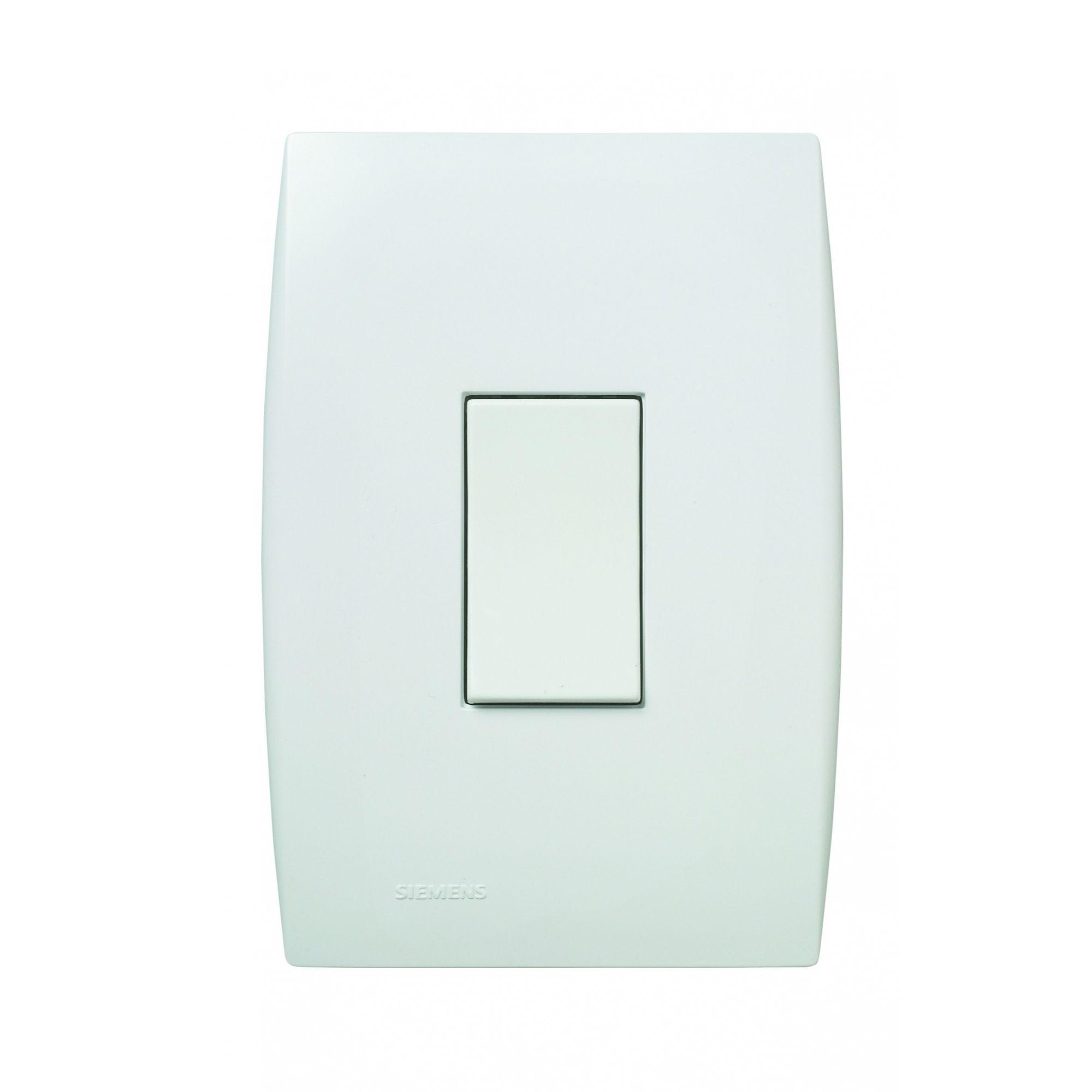Interruptor 1SS Vertical Ilus Branco 5TA9 9041 - Siemens