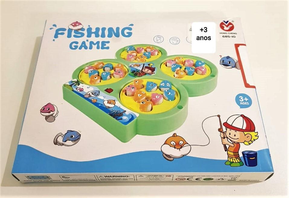 Jogo Recreativo Pescaria 32 Peixes