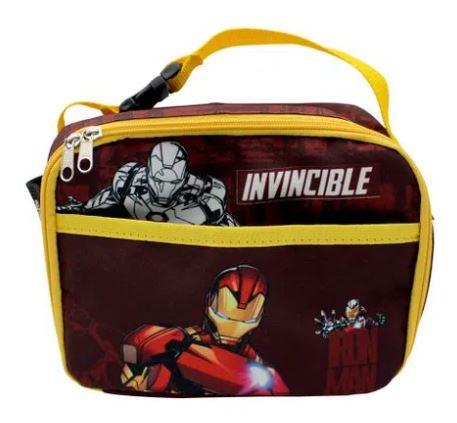 Lancheira Térmica Iron Man