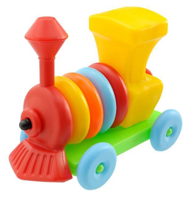 Locomotiva Trenzinho Peças Encaixar