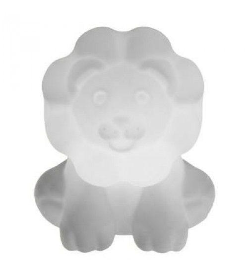 Luminária Abajur Leão - Natural