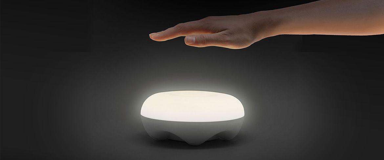 Luminaria Abajur de Mesa Cloud 4w 2900k Branco Quente Dimerizável Opus