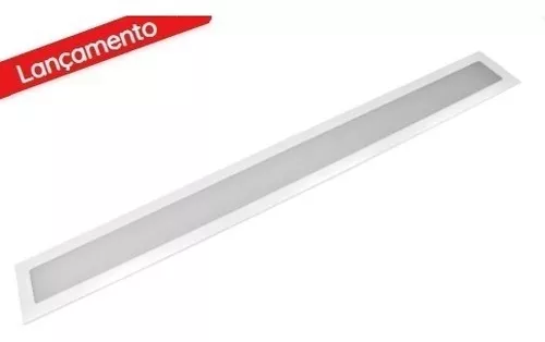 Luminária Painel Led 18w Retangular Embutir Bivolt Opus 60 CM