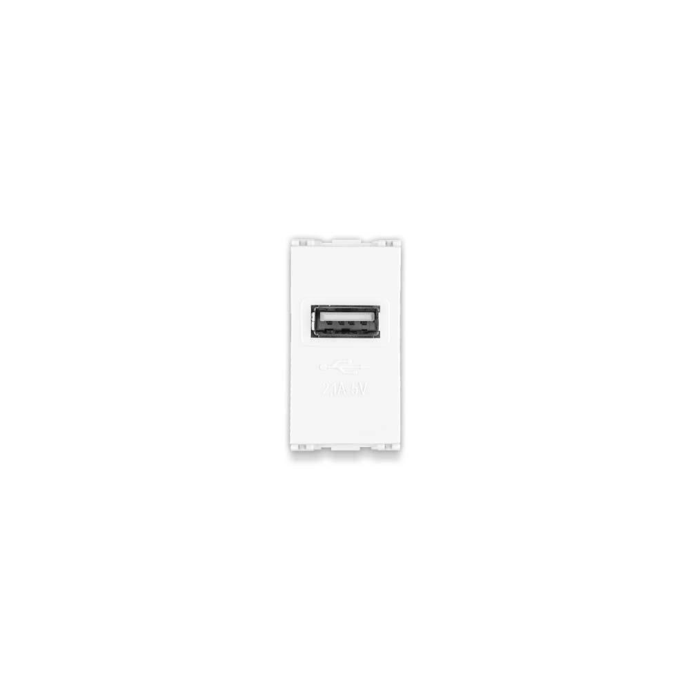 Módulo USB Bivolt 2.1A 5V / Linha Lissê - Apoio