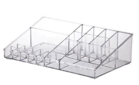 Organizador De Cosméticos e Acessórios Com 21 Cavidades 32cmX18cmX9cm