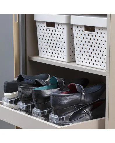 Organizador De Sapatos E Tênis Cristal Para Armário Ou Closet