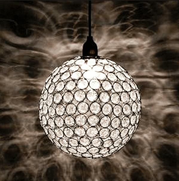 Pendente em Cristal Transparente Arpejo GA011