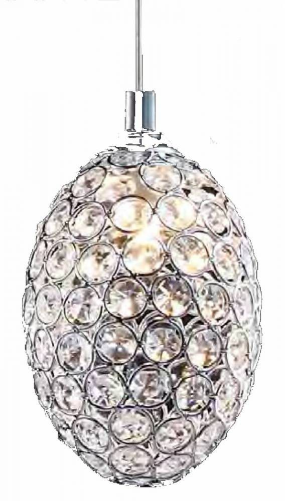 Pendente em Cristal Transparente Goutte GA014