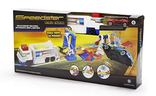 Pista de Carrinhos Speedster - Desafio Extremo