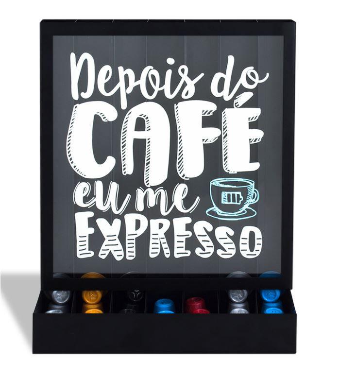 Quadro Porta Cápsulas de Mesa/Parede Expresso (Nespresso)