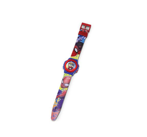 Relógio Digital Com Data e Hora Disney Homem Aranha