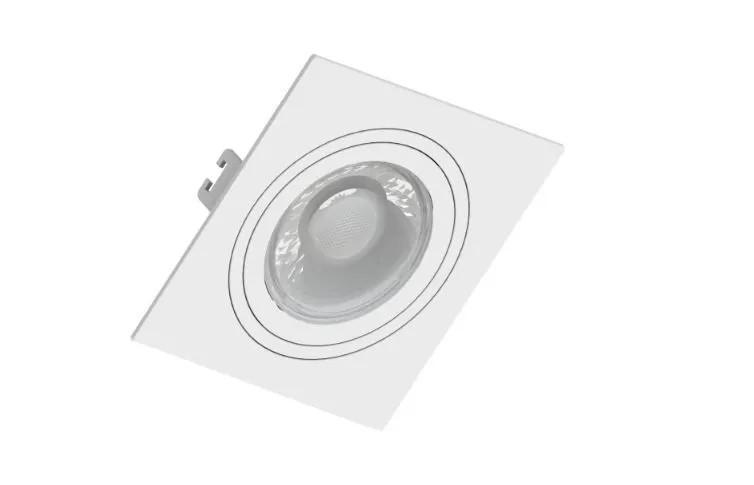 Spot de Embutir Teto Direcionável Orbital Quadrado PAR16 GU10