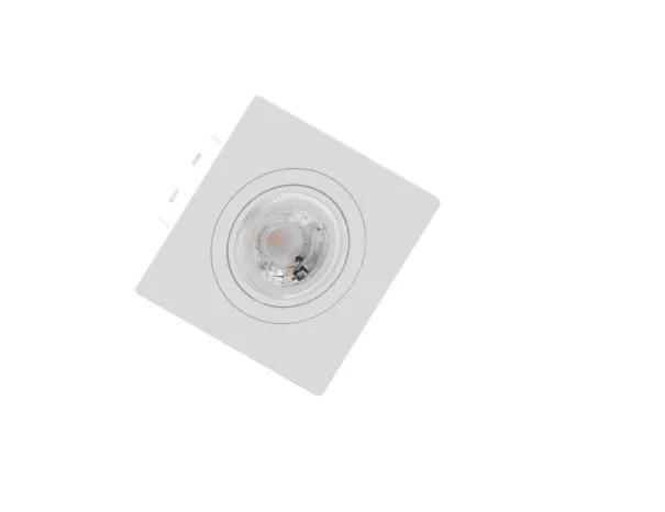 Spot de Embutir Teto Direcionável Orbital Quadrado MINI DICRÓICA MR11 GU10