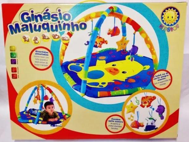 TAPETE INFANTIL PARA BEBÊ GINÁSIO MALUQUINHO