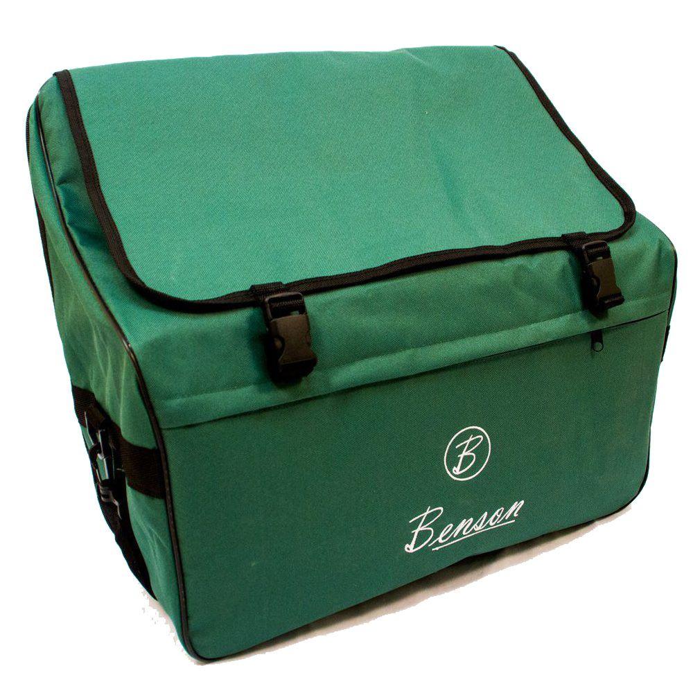 Acordeon Benson Bac08 Vermelho Perolado 22 Teclas Com Bag
