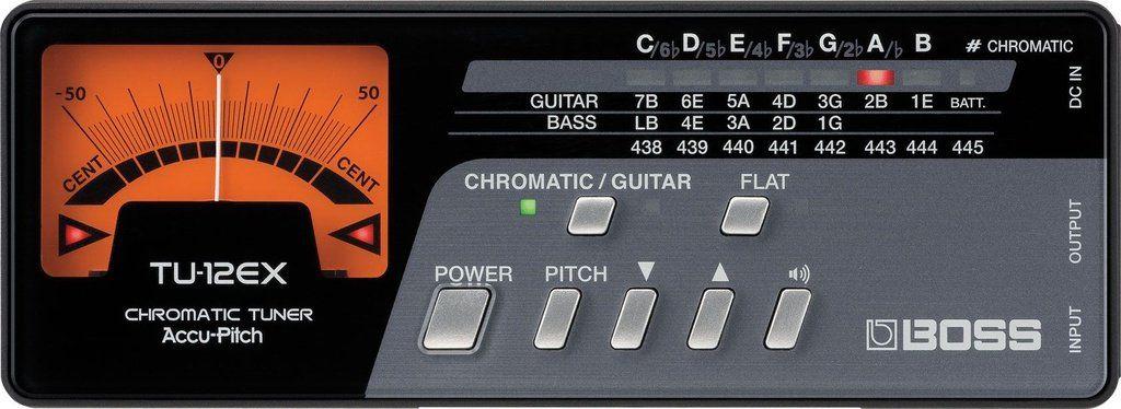 Afinador Cromático Boss TU12 EX