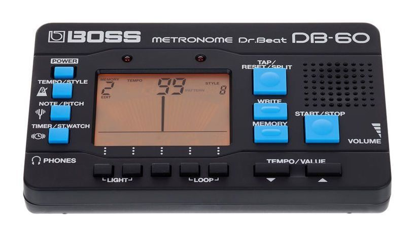 Afinador Cromático e Metrônomo Boss DB60