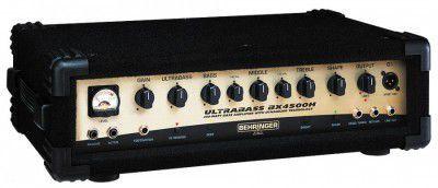 Amplificador Cabeçote Behringer Ultrabass BX4500H 450W para Contrabaixo