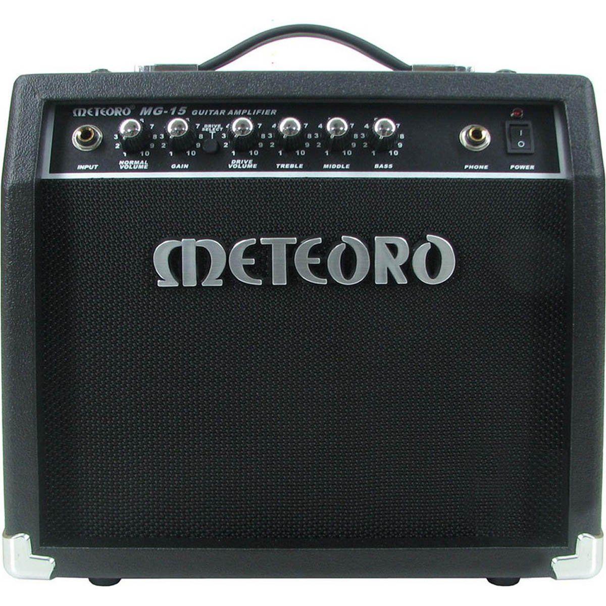 Amplificador Meteoro MG15R Reverb 1X6