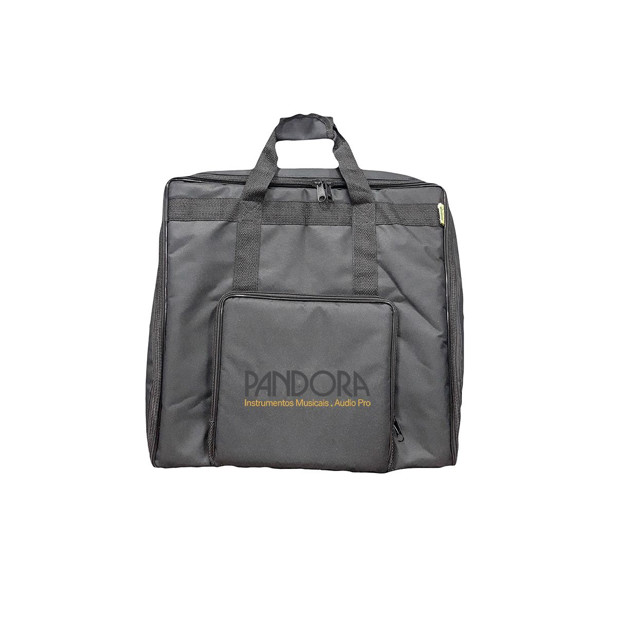 Bag AVS BIT041SL Super Luxo Preto para Acordeon 80 Baixos