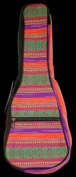 Bag Ohana UB-21 Multi-Color Canvas para Ukulele Soprano
