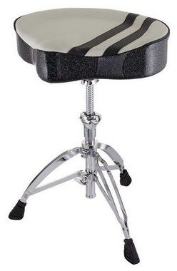 Banco Mapex Selim T756W Racing Stripes para Bateria
