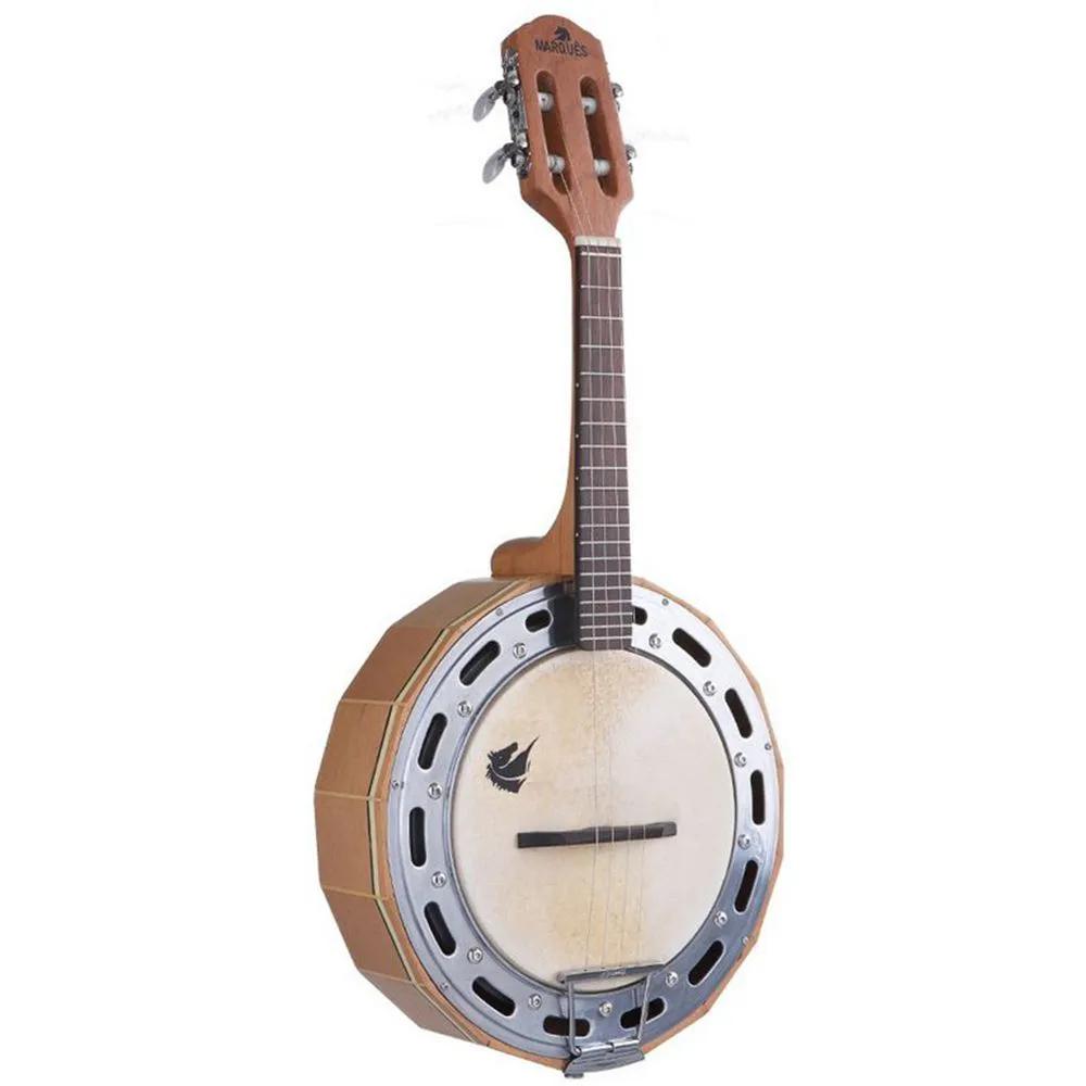 Banjo Acústico Marquês BAJ-98 Madeira Natural