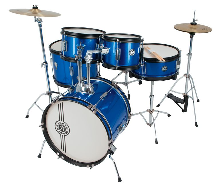 Bateria Infantil Nagano One Drum JBJ1049 Junior Azul