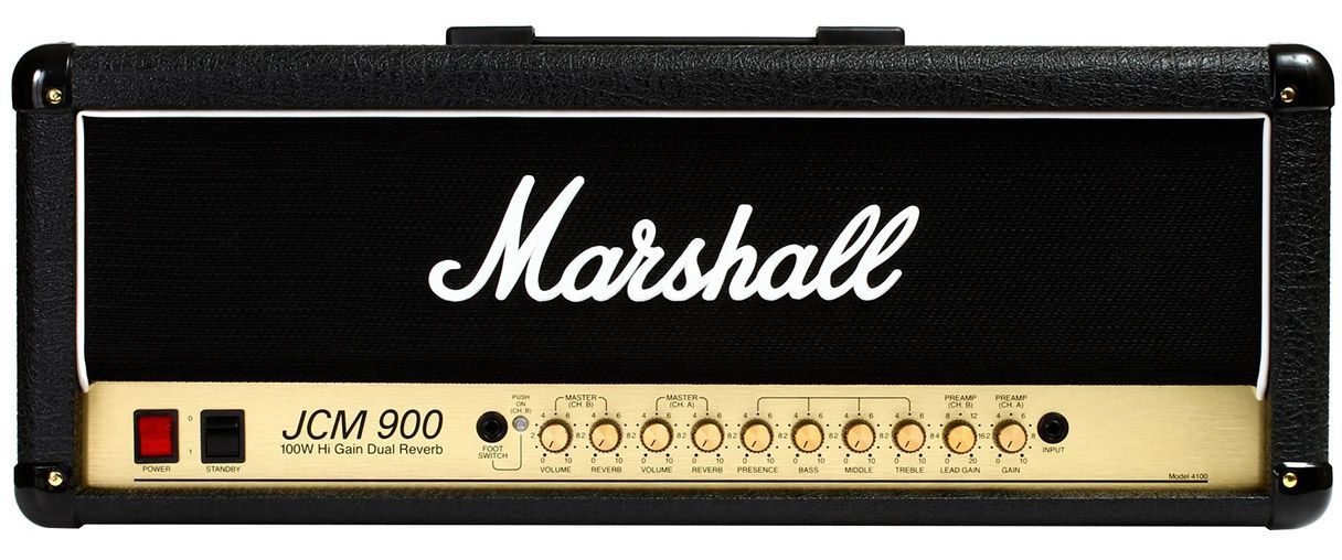 Cabeçote Marshall JCM900 4100 100W para Guitarra