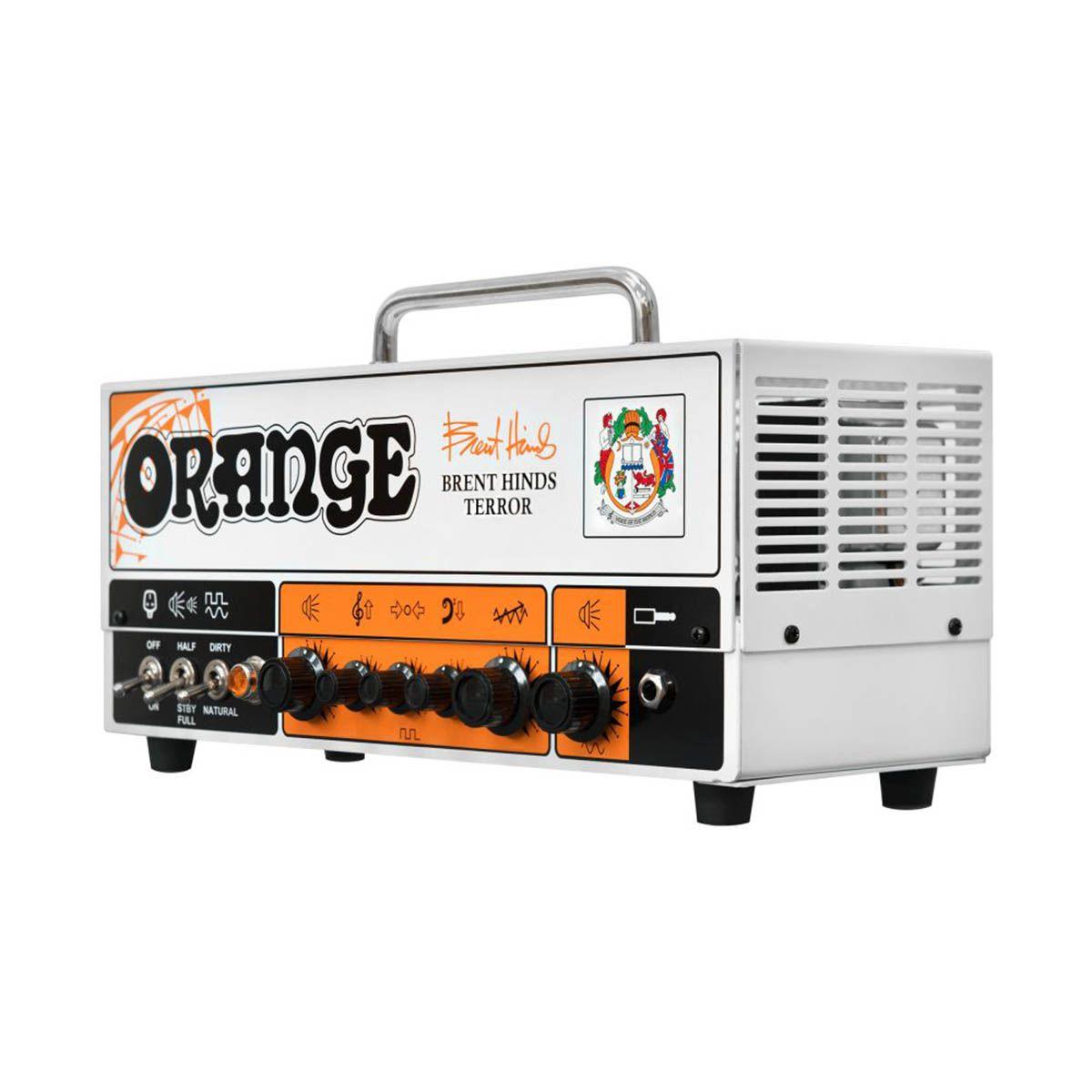 Cabeçote Orange Brent Hinds Terror 15W para Guitarra