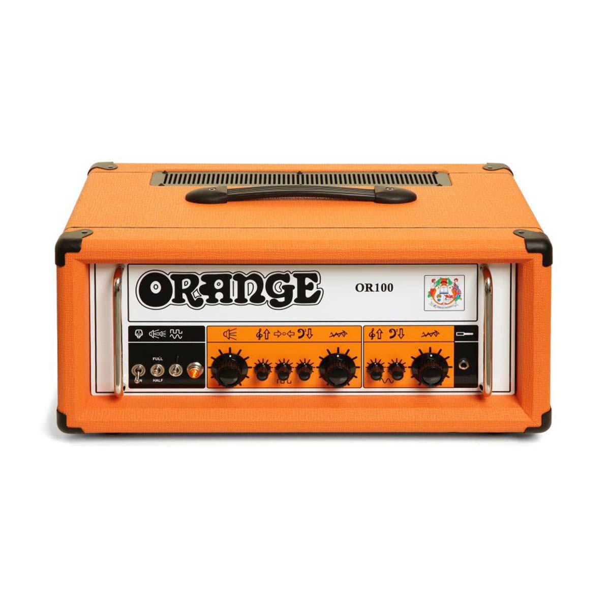 Cabeçote Orange OR100H 100W para Guitarra