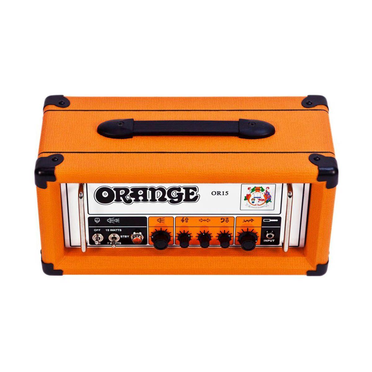 Cabeçote Orange OR15H 15W para Guitarra