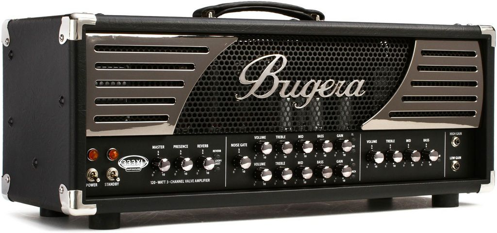 Cabeçote Valvulado Bugera 333XL Infinium 120w para Guitarra