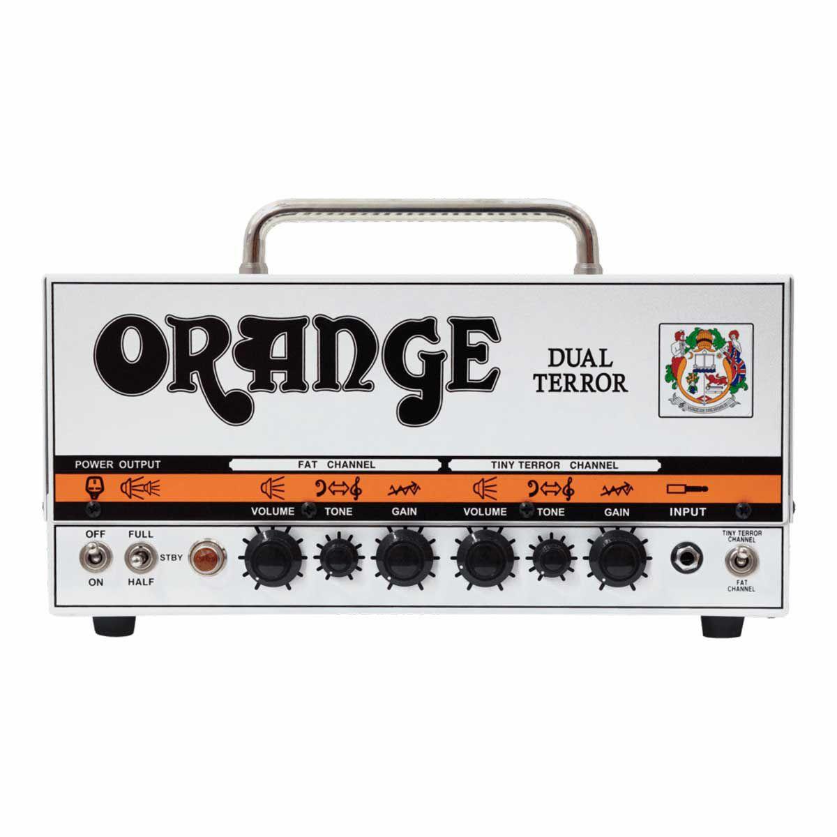 Cabeçote Valvulado Orange Dual Terror Head 30W para Guitarra