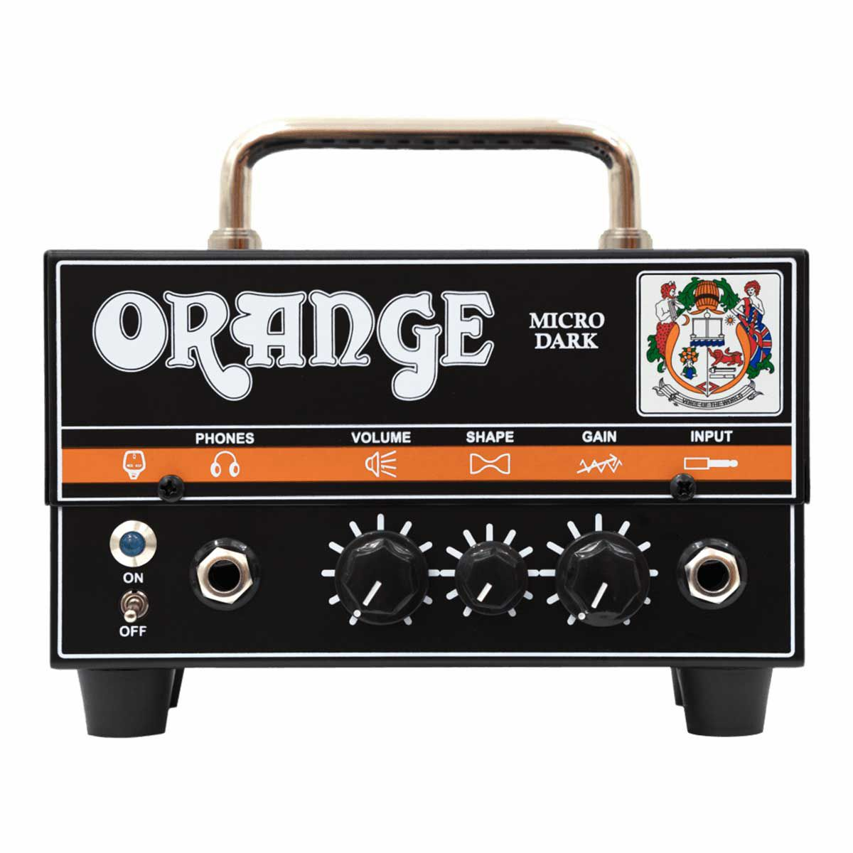 Cabeçote Valvulado Orange Micro Dark Head 20W Híbrido