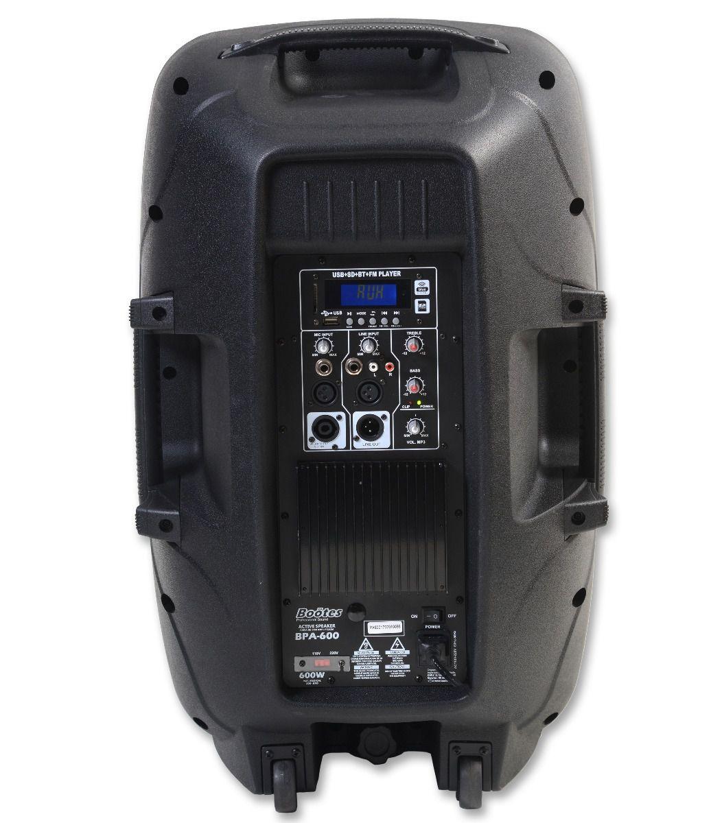 Caixa Acústica Ativa Boötes BPA600 1X15