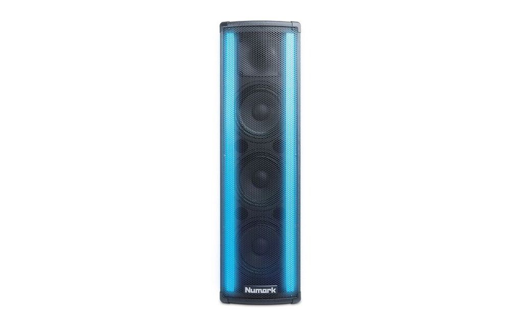 Caixa Acústica Ativa Numark Lightwave DJ LED 3x6,5