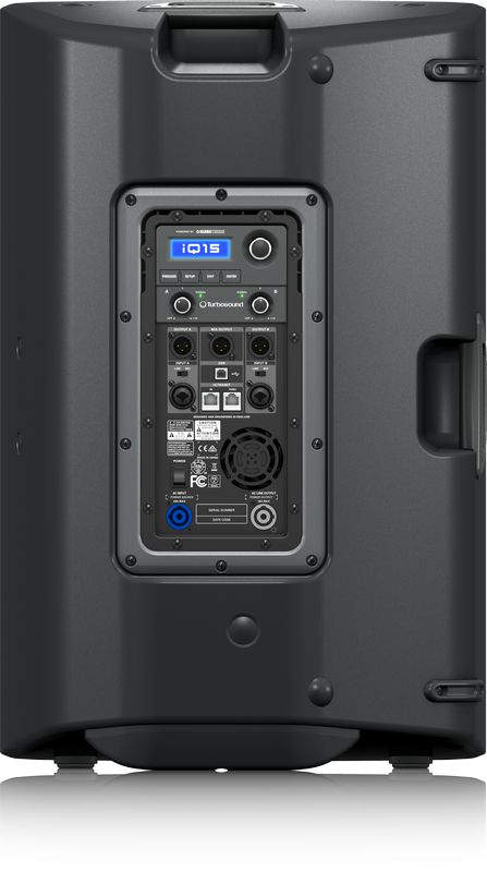 Caixa Acústica Ativa Turbosound iQ15 15