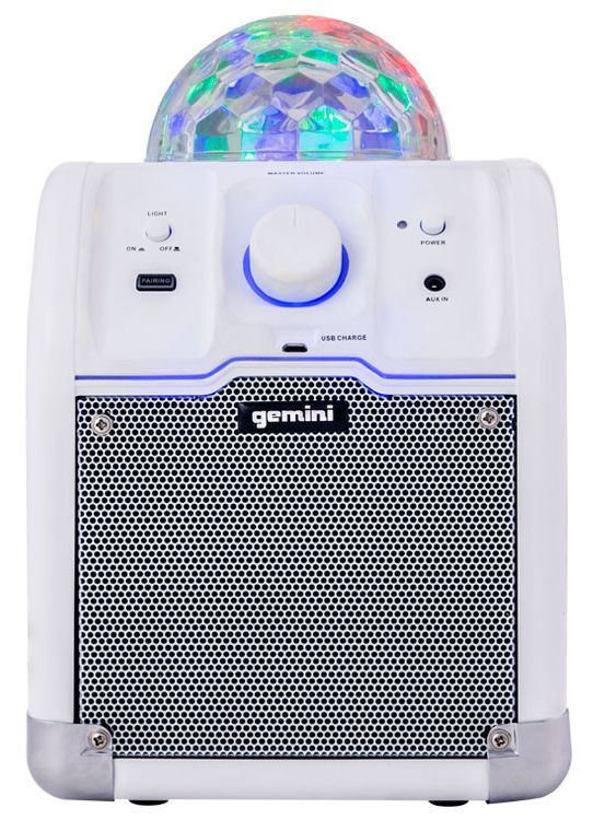 Caixa Acústica Portátil Gemini MPA 500 USB Ativa 500W