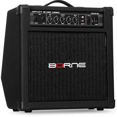 Caixa Amplificada Borne Impact Bass CB80 1x8 30W