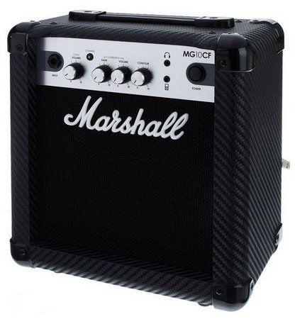 Caixa Amplificada Marshall MG10CF 10W 1x6.5 MG Series para Guitarra