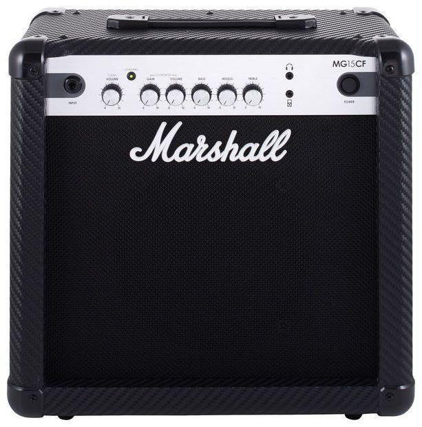 Caixa Amplificada Marshall MG15CF 15W 1x8 MG Series para Guitarra