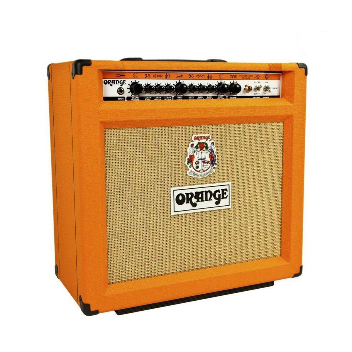 Caixa Amplificada Orange Rockerverb 50 MKII para Guitarra