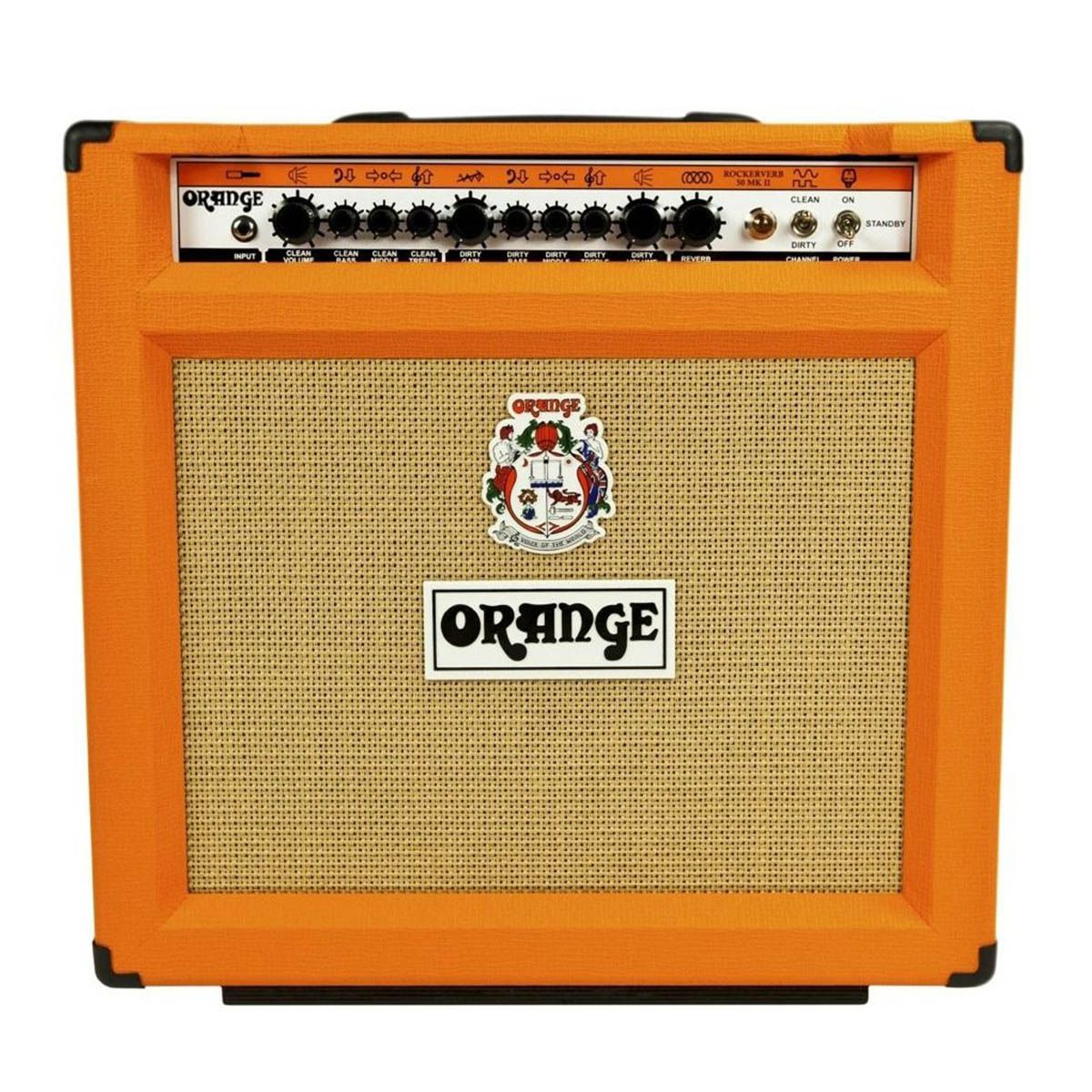 Caixa Amplificada Orange Rockerverb 50 MKII para Guitarra