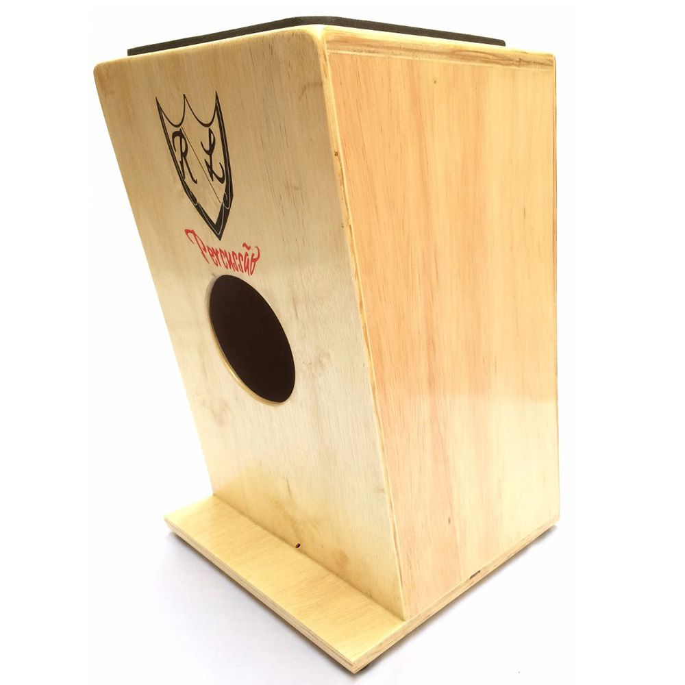 Cajon Inclinado Real Line Up Florescer Acústico Natural