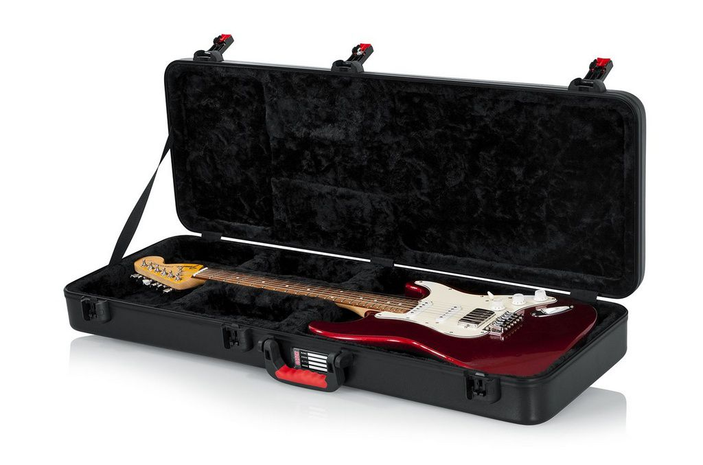 Case Gator Gpe Elec Tsa Series Militar para Guitarra