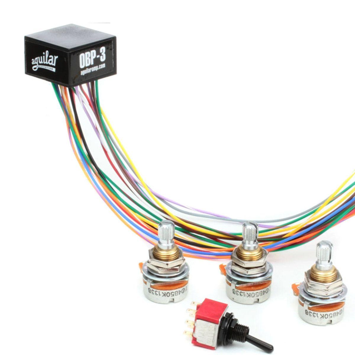 Circuito Pre-Amp Aguilar OBP-3TK para Contrabaixo