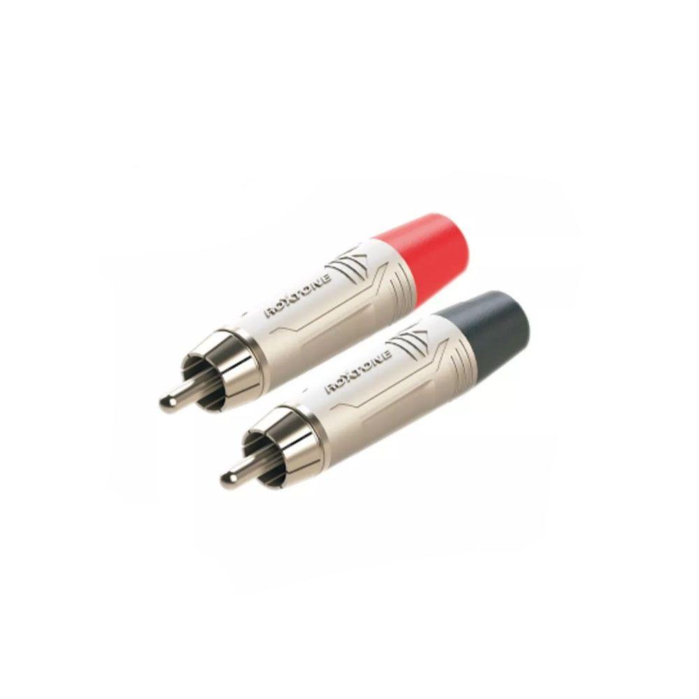 Conector Roxtone RF2C-NN Premium 2 RCA